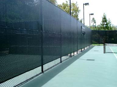 Tennis Windscreen Amp Mesh Screen