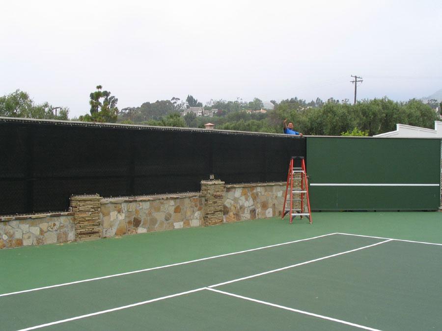 Njp Sports Inc Tennis Windscreen And Tennis Court Supplies